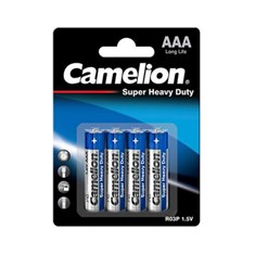 Camelion Super Heavy Duty, AAA ზომა, (4 ცალი)